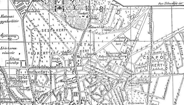 régi debrecen térkép Törté| Debreceni Militárium Honvédtemető   Hősök temetője régi debrecen térkép